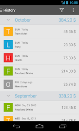 Expense Manager Screenshot 2