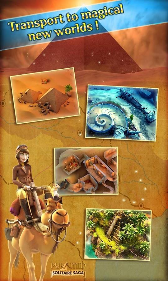 Pyramid Solitaire Saga - screenshot