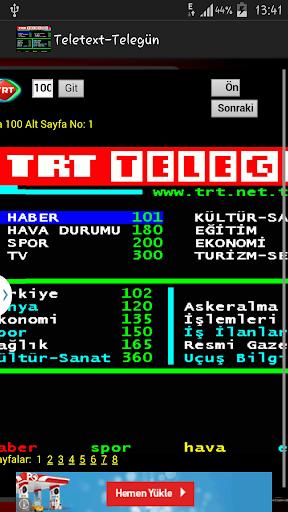 Teletext-Telegün