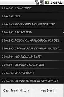 MELaw Motor Vehicle Title 29-A- screenshot thumbnail
