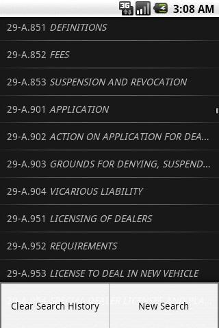 MELaw Motor Vehicle Title 29-A- screenshot