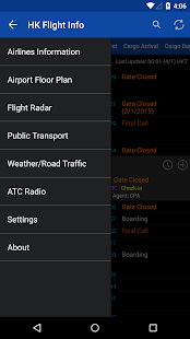 Hong Kong Flight Info- screenshot thumbnail