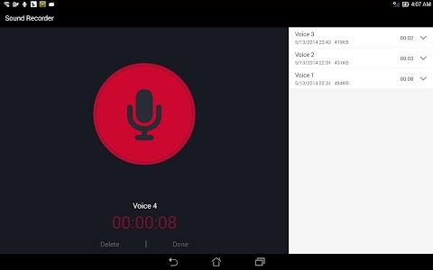 ASUS Sound Recorder v1.0.0.141021