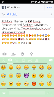 Abliflora - Emoji Keyboard