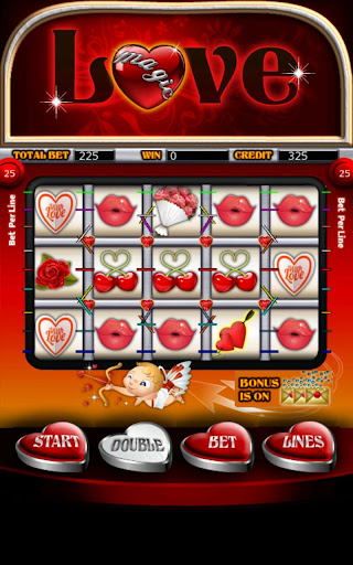 Magic Love Slot Machine HD Screen Capture 1