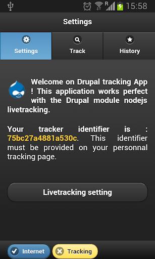 Drupal livetracking