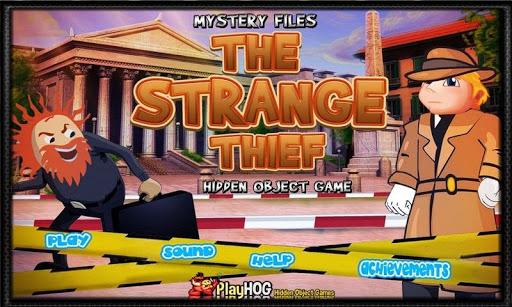 Strange Thief - Hidden Objects
