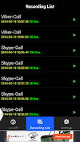 Screenshot of Real Call Recorder
