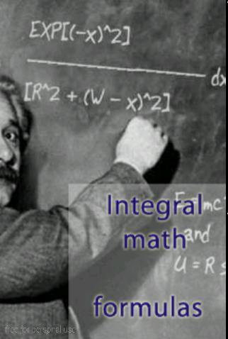 Integral table math