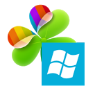 Windows 8  Go Launcher Theme icon