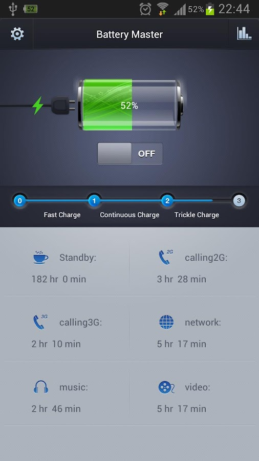 Battery Master-Save power! - screenshot