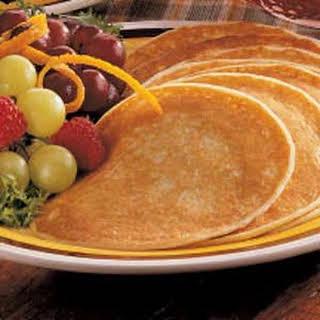 Golden Pancakes.