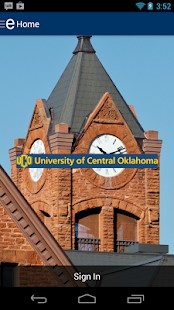 University of Central Oklahoma- screenshot thumbnail
