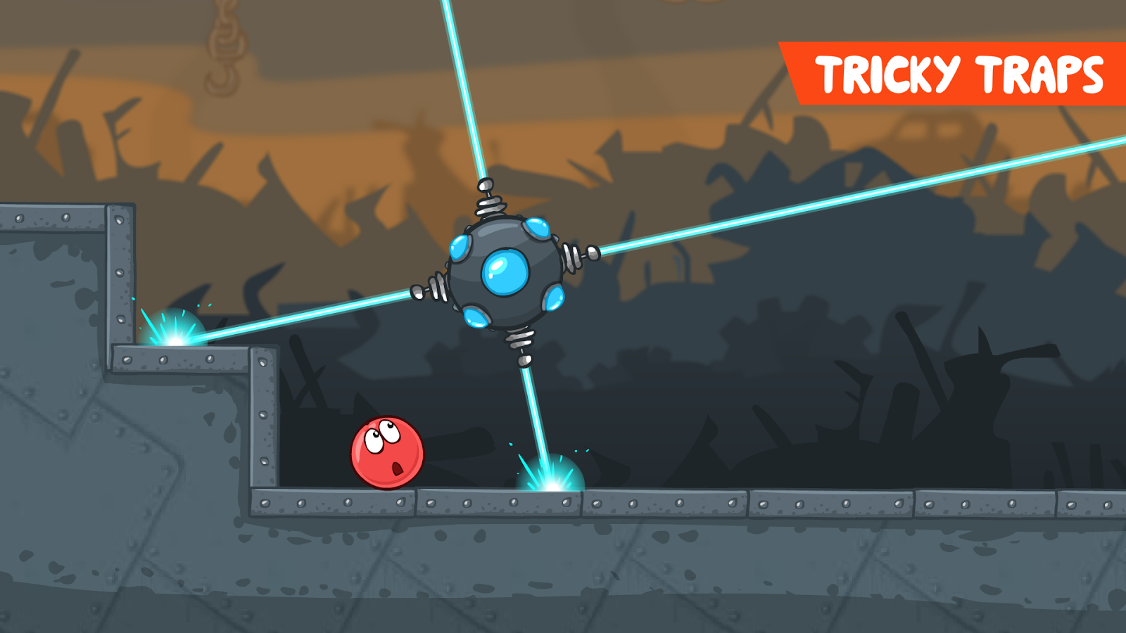 Red Ball 4- screenshot