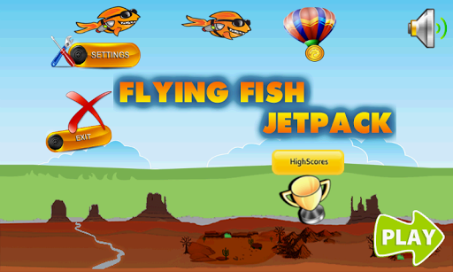 Flying Fish Jetpack