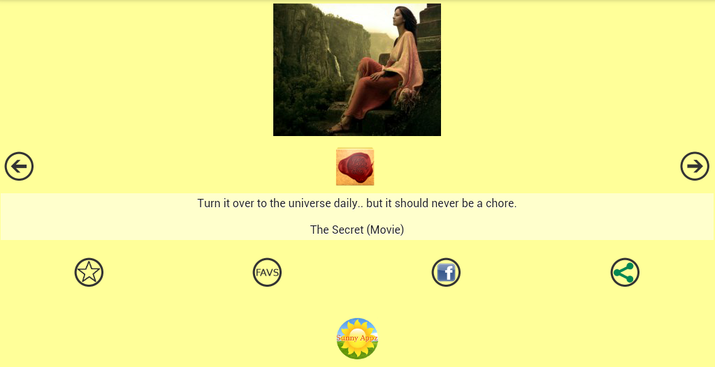 Secret Spiritual Quotes - screenshot