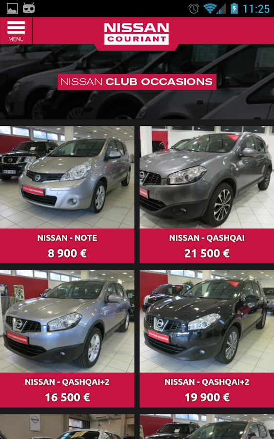 Nissan Couriant – Capture d'écran
