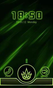 Go Locker Neon Green Style