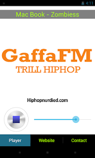 GaffaFM - screenshot thumbnail