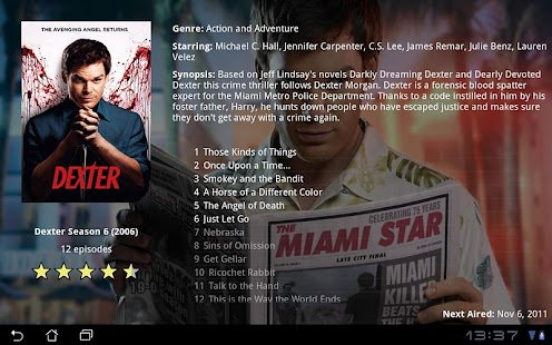 MovieBrowser HD Screenshot 5