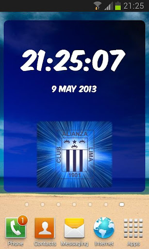 Digital Clock Alianza Lima