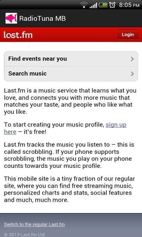 Radiotuna - Grooveshark AIO MB - screenshot