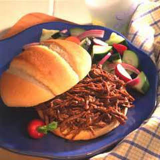 Hearty Bbq Beef Sandwiches.