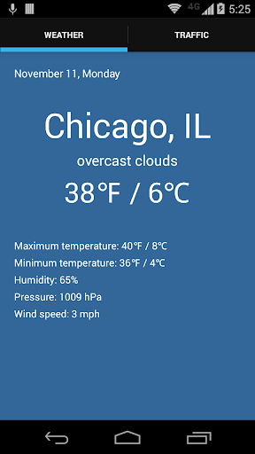 Chicago Weather Traffic