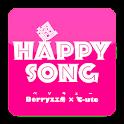 超HAPPYSONG logo
