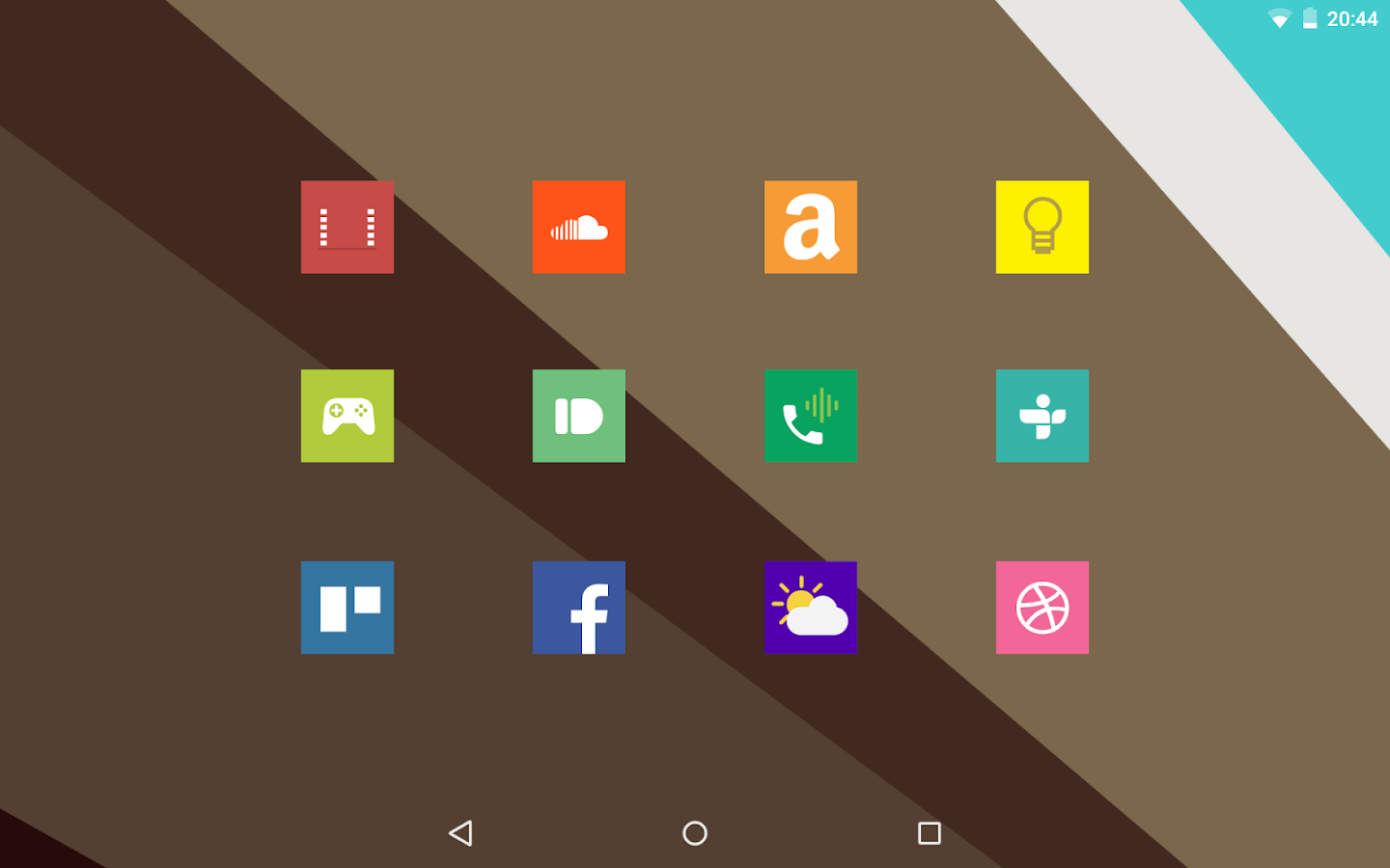Square Icon Pack Free - screenshot