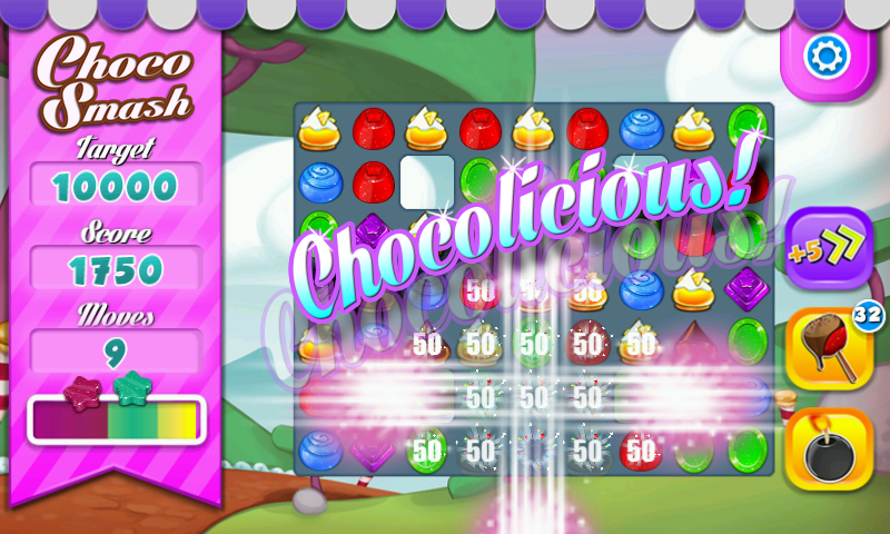 Choco Smash - screenshot