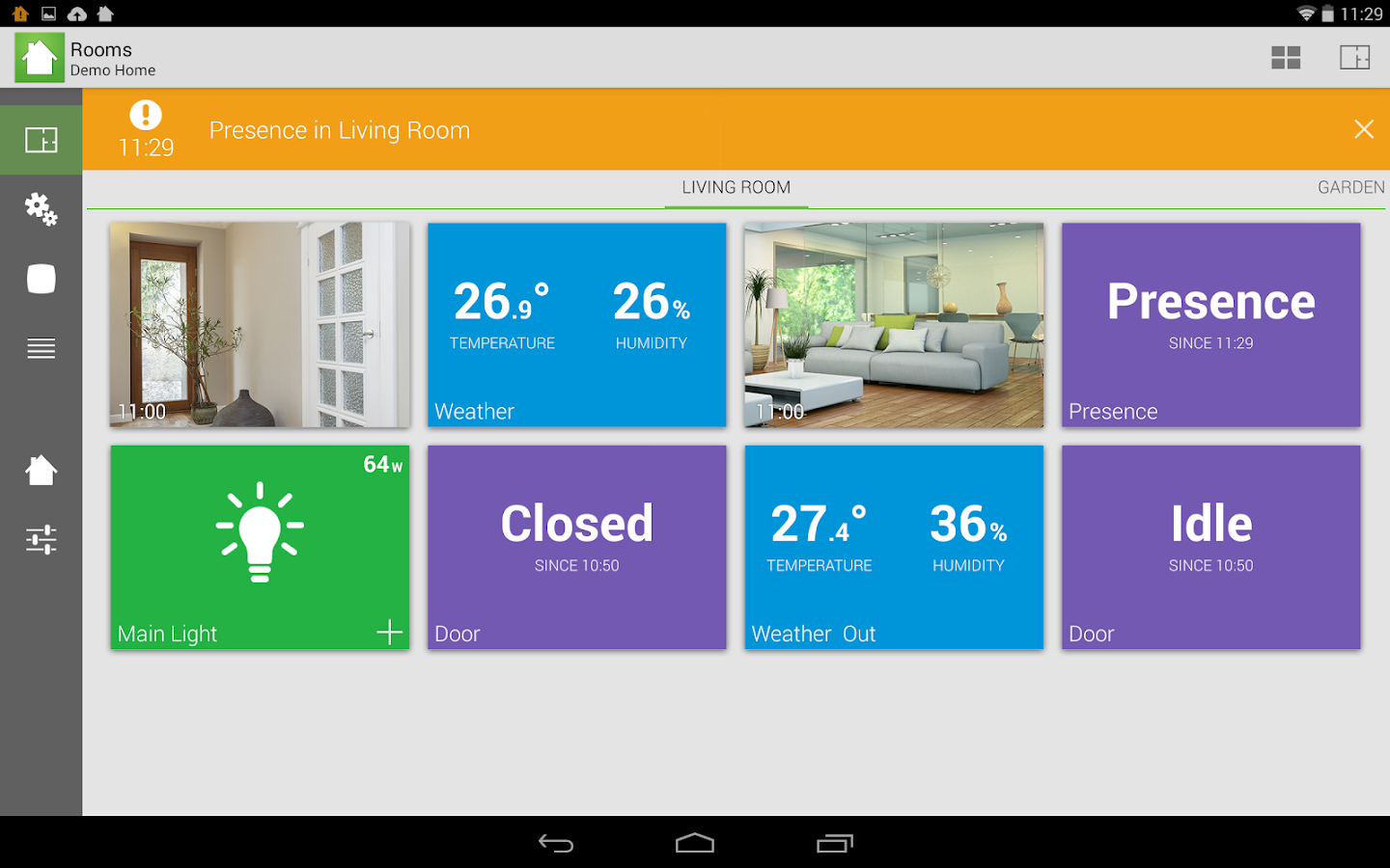 archos smart home app android su google play. Black Bedroom Furniture Sets. Home Design Ideas