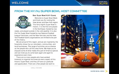 Super Bowl XLVIII Game Program - screenshot thumbnail