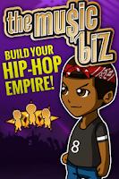 Screenshot of The Music Biz