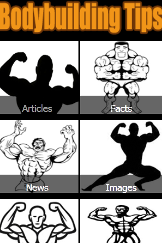 Bodybuilding Tips - screenshot