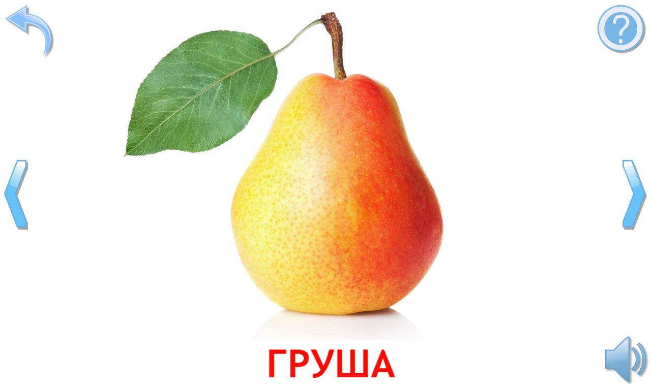 овощи и фрукты для детей в картинках