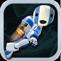 Jetpack Robot icon