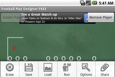 Football Play Designer FREE - screenshot