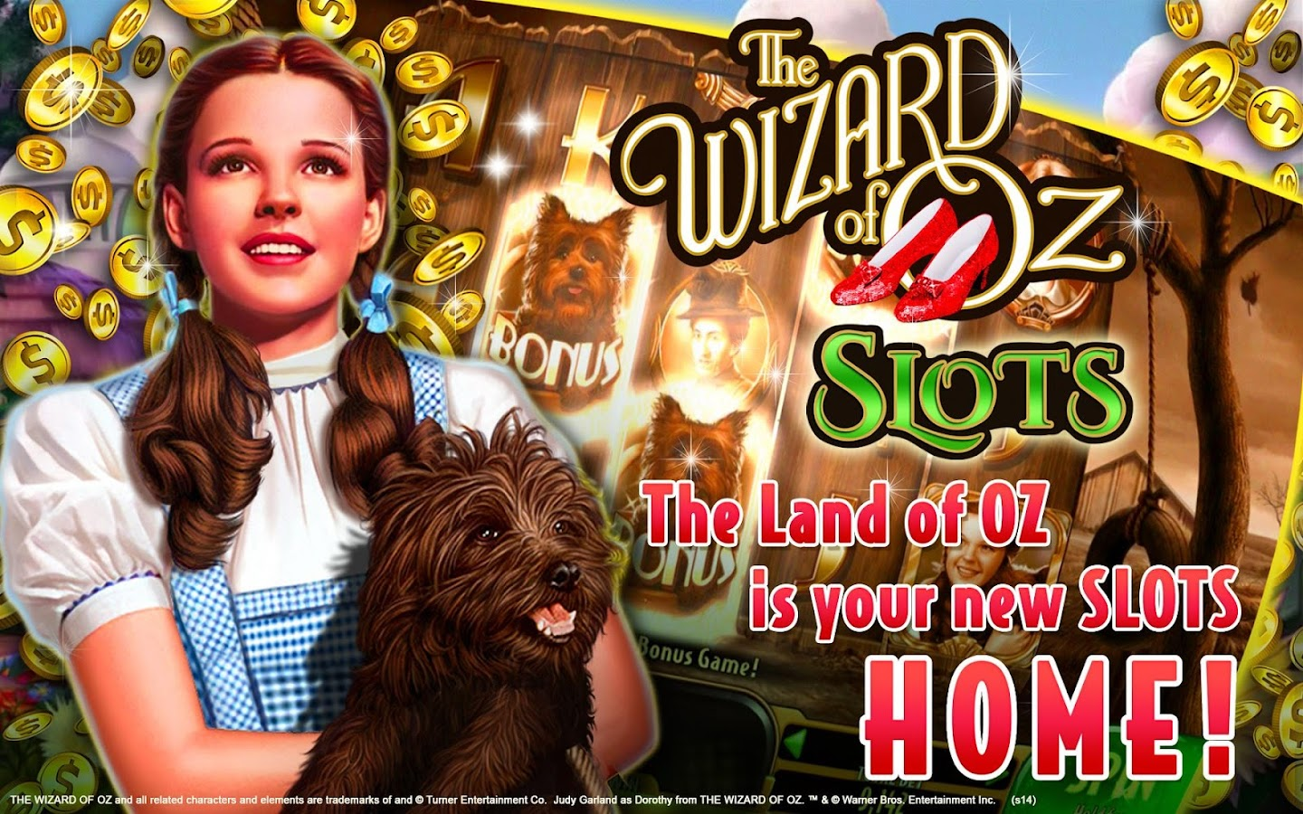 slot machines wizard of oz