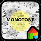 Monotone Roses dodol theme