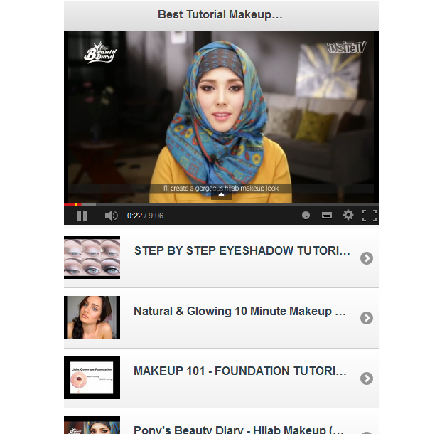 101 Tutorial Makeup Muslimah - Android Apps on Google Play