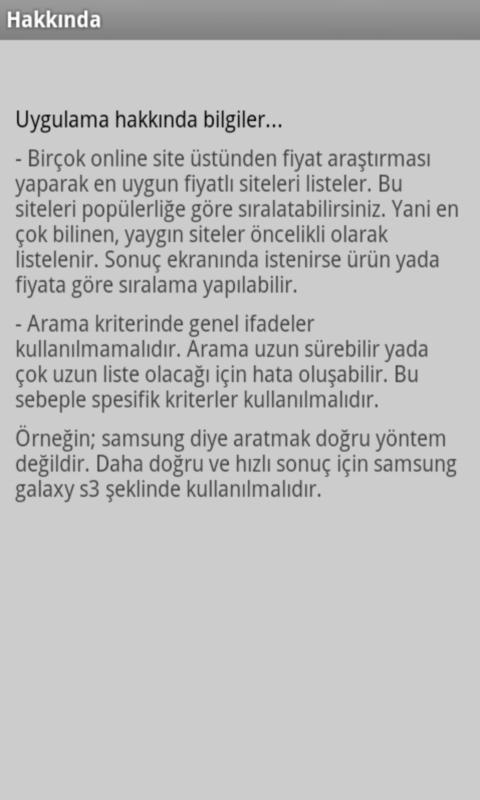 Ucuz Fiyat Ara- screenshot