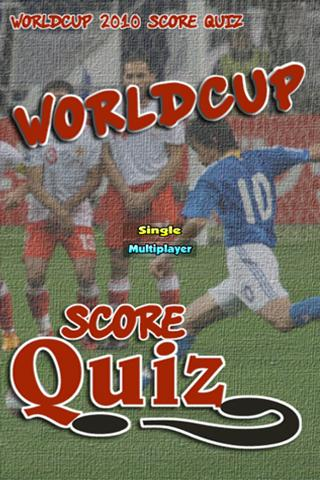 WorldCup Score Quiz