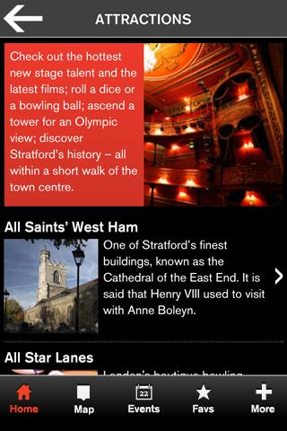 Visit Stratford - screenshot