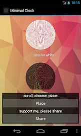 Minimal Clock Screenshot 7