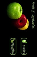 Screenshot of Fruits And Vegetables Lite