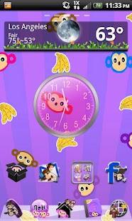 Monkey Theme for GO Launcher- screenshot thumbnail