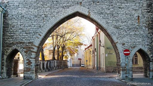 Monastery Gate, Tallinn, Estonia.