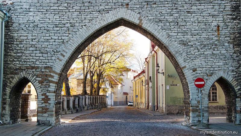 Monastery Gate in Tallinn.