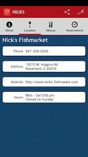 Nick's Fishmarket - screenshot thumbnail